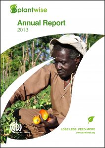 Plantwise Annual Report 2013 cover