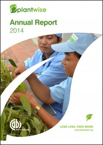 Plantwise Annual Report 2014 cover