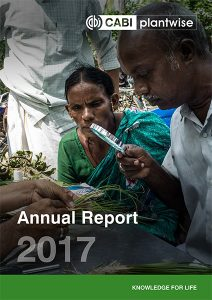 Plantwise Annual Report 2017 cover