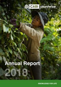 Plantwise Annual Report 2018 cover